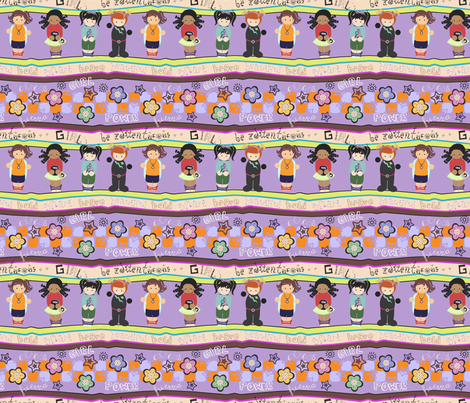 Adventure Girls fabric by eppiepeppercorn on Spoonflower - custom fabric