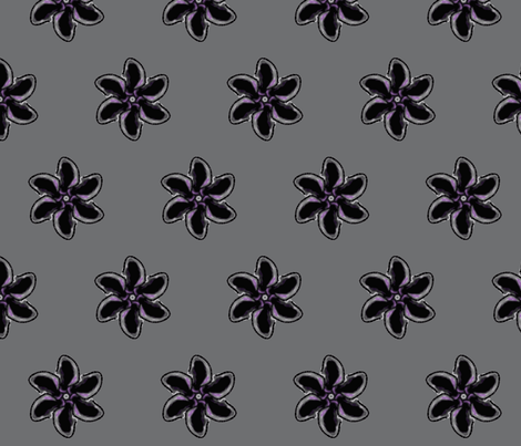 flower-ch fabric by krypton on Spoonflower - custom fabric