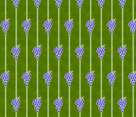 Grape Stripes fabric by siya on Spoonflower - custom fabric