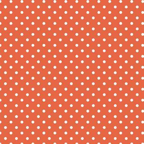 polka dot solid in koi fabric by chantae on Spoonflower - custom fabric