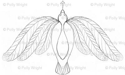 bird pencil