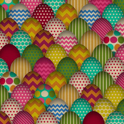 carnival de egg small fabric by scrummy on Spoonflower - custom fabric