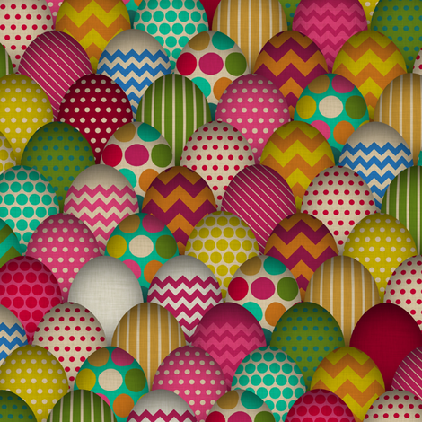 carnival de egg (small scale) fabric by scrummy on Spoonflower - custom fabric