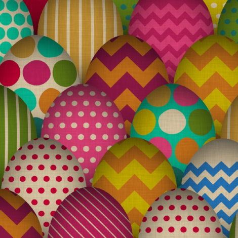 carnival de egg large fabric by scrummy on Spoonflower - custom fabric