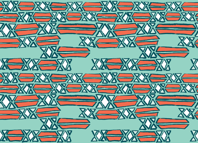 Diamond Mosaic Sketch fabric by lovesunnylauren on Spoonflower - custom fabric