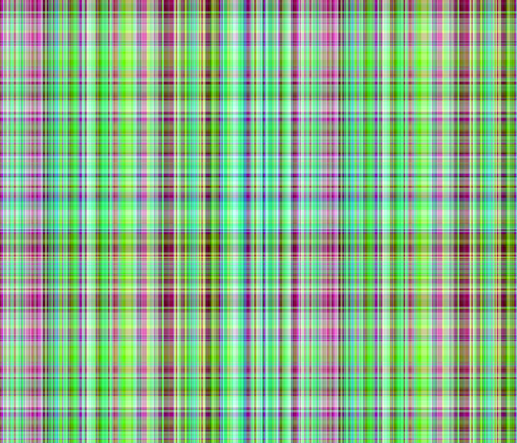 """Nice Girl Plaid"" fabric by jeanfogelberg on Spoonflower - custom fabric"