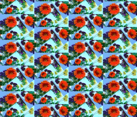 Emmy's Bouquet fabric by krussimages on Spoonflower - custom fabric