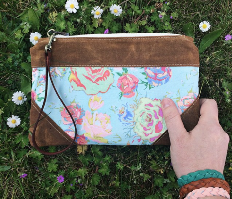 Vintage Inspired Floral in Peach, Mint, and Spring Green