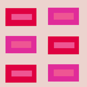 Rectangles in Hot Pink and Red