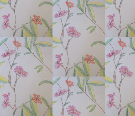 floral_arrangement fabric by rachana on Spoonflower - custom fabric