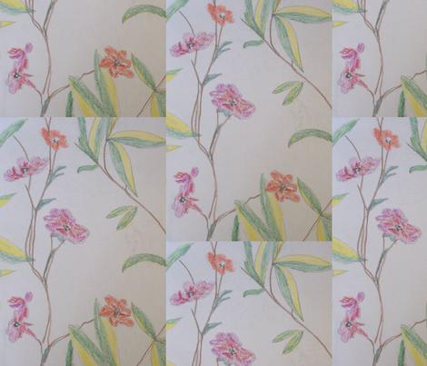 floral_arrangement fabric by rachana on Spoonflower - custom fabric
