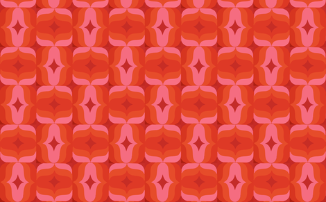 retro fabric by myracle on Spoonflower - custom fabric