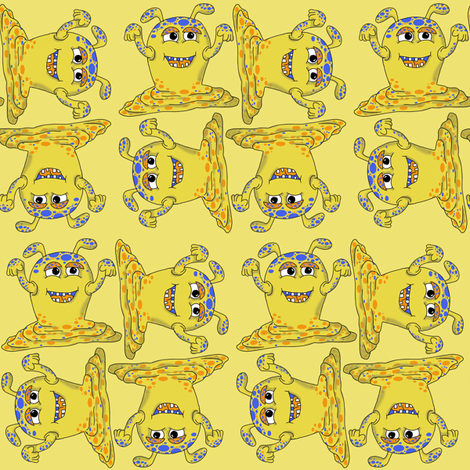 poggle fabric by woodle_doo on Spoonflower - custom fabric