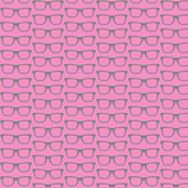 eyeglasses : glasses in pink