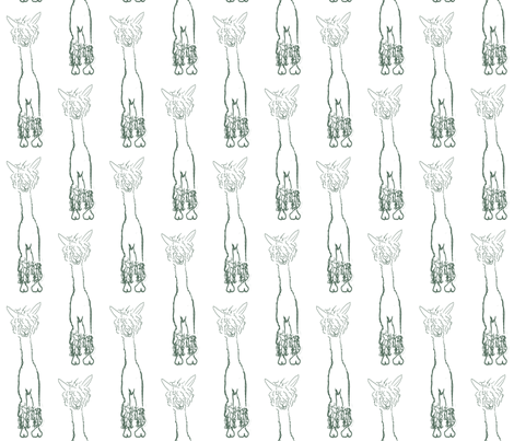 Alpacaluvline fabric by luvinewe on Spoonflower - custom fabric