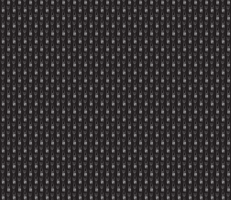 Chalkboard Alpacas fabric by luvinewe on Spoonflower - custom fabric