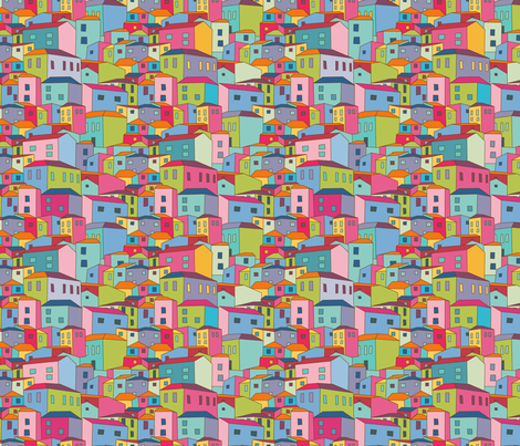 Joliville fabric by simply_colours on Spoonflower - custom fabric