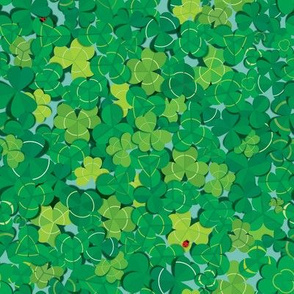 Lucky's Clover Over and Over