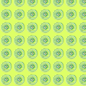 Teeny Tiny Spring Green Circle Pattern
