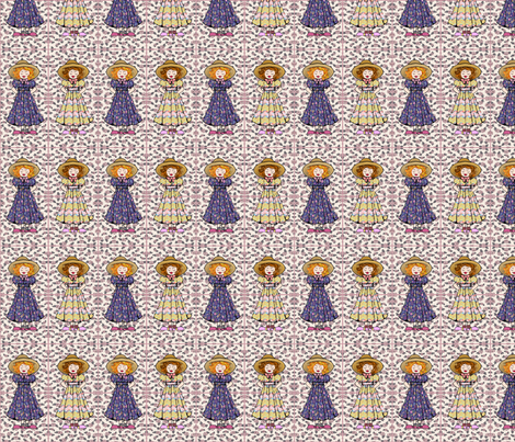 country girls fabric by krs_expressions on Spoonflower - custom fabric