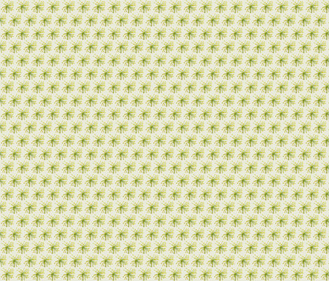 Small Print- Dilly Dalley Springtime Garden Print fabric by theartwerks on Spoonflower - custom fabric