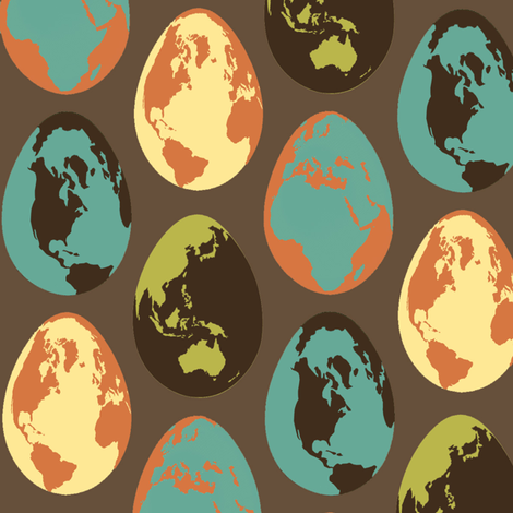 GlobeEgg4 fabric by mgterry on Spoonflower - custom fabric