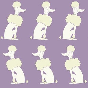 Oodles of Poodles in Lavender
