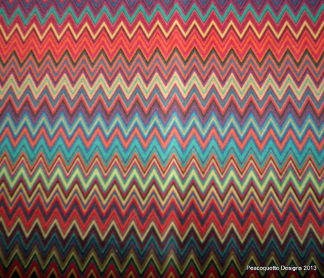 Fall 2013 Fashion Colors Mini Chevrons