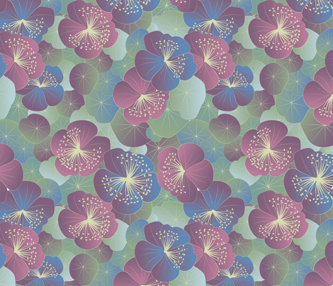 magical garden fabric by kociara on Spoonflower - custom fabric