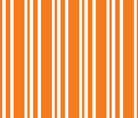 dapper orange fabric by knittychick on Spoonflower - custom fabric