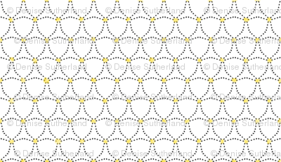 Dotty Triangles — with a touch of yellow