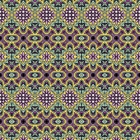Purple Plantation fabric by kerryn on Spoonflower - custom fabric