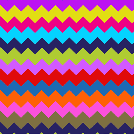 Chevron Multi Stripe Zig Zag Paris Bebe Fancy Party! fabric by parisbebe_com on Spoonflower - custom fabric