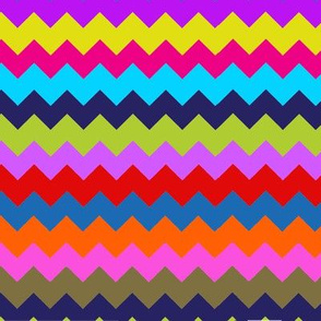 Chevron Multi Stripe Zig Zag Paris Bebe Fancy Party!