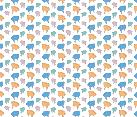 square_sheep fabric by jaquelina on Spoonflower - custom fabric