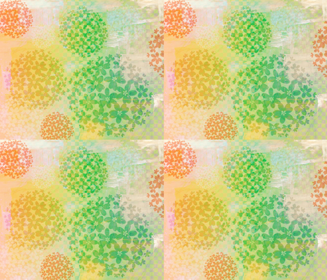 summer snowball fabric by keweenawchris on Spoonflower - custom fabric