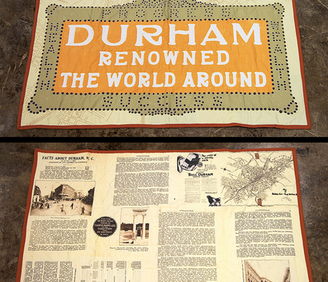 Durham Renowned the World Around Quilt