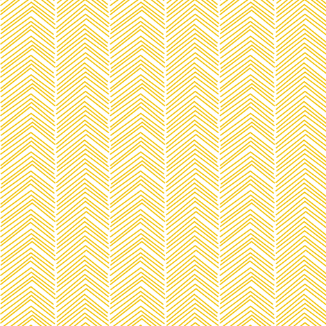 chevron ♥ golden yellow and white