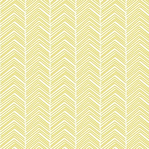 chevron love mustard