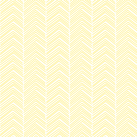 chevron ♥ yellow fabric by misstiina on Spoonflower - custom fabric