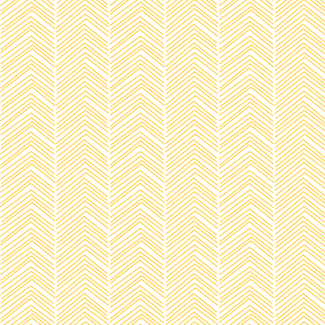 chevron ♥ yellow and white fabric by misstiina on Spoonflower - custom fabric