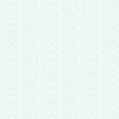 chevron love ice mint green fabric by misstiina on Spoonflower - custom fabric