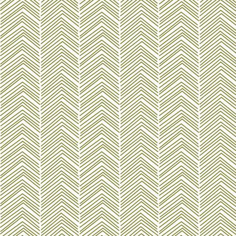 chevron ♥ olive green and white