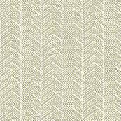chevron  olive green and white