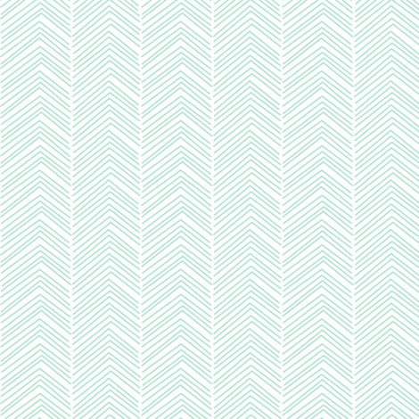 chevron love mint green fabric by misstiina on Spoonflower - custom fabric
