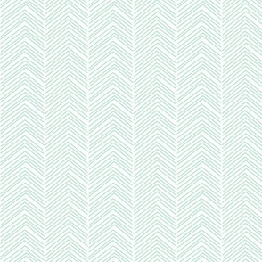 chevron ♥ mint green