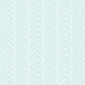 chevron love light teal