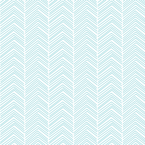 chevron ♥ teal and white fabric by misstiina on Spoonflower - custom fabric