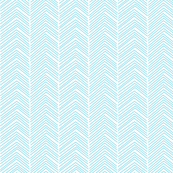 chevron love sky blue