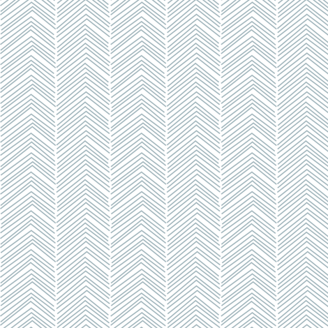 chevron ♥ slate blue and white